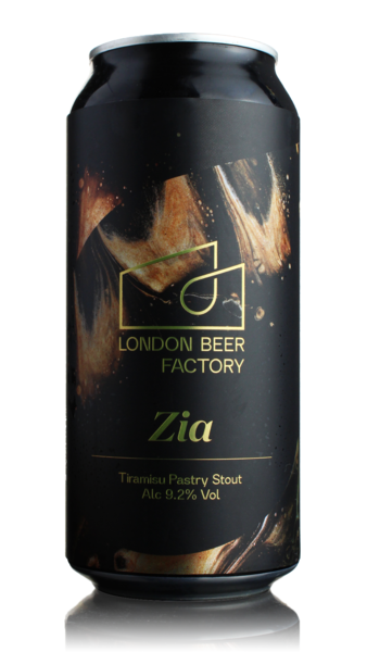 London Beer Factory Zia Tiramisu Pastry Stout