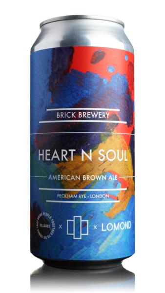 Brick Brewery Heart N Soul American Brown Ale