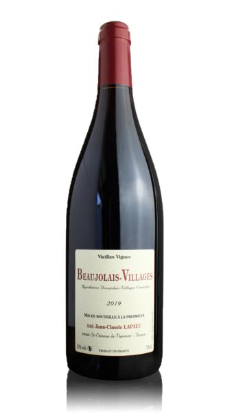 Beaujolais-Villages Vieilles Vignes, Jean-Claude Lapalu 2019