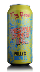Tiny Rebel/Polly's Brew Co Pineapple Express IPA