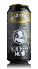 Northern Monk Holy Faith Alcohol Free Hazy Pale Ale