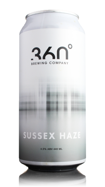 360 Degree Brewing Sussex Haze DDH Pale