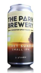 Park Brewery Secret Sunrise Small IPA