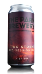 Park Brewery Two Storm Red Session IPA