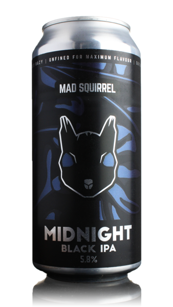 Mad Squirrel Midnight Black IPA