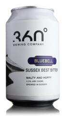 360 Degree Brewing Bluebell Sussex Best Bitter