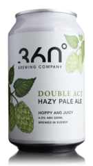 360 Degree Double Act Hazy Pale Ale