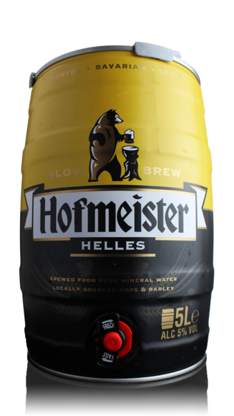 Hofmeister Helles Lager Mini Keg