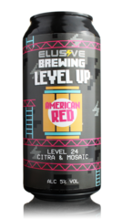 Elusive Brewing Level Up American Red