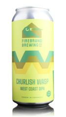 Firebrand Brewing Churlish Wasp West Coast DIPA