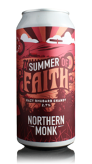 Northern Monk Summer of Faith Hazy Rhubarb Shandy