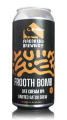 Firebrand Brewing Frooth Bomb Oat Cream IPA