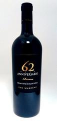 San Marzano '62 Anniversario' Primitivo di Manduria 2015