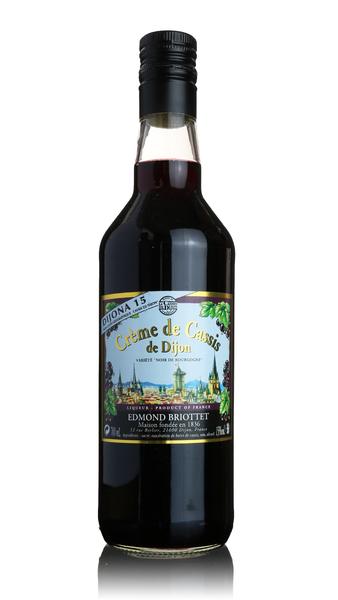 Creme de Cassis de Dijon, Edmond Briottet (15%)