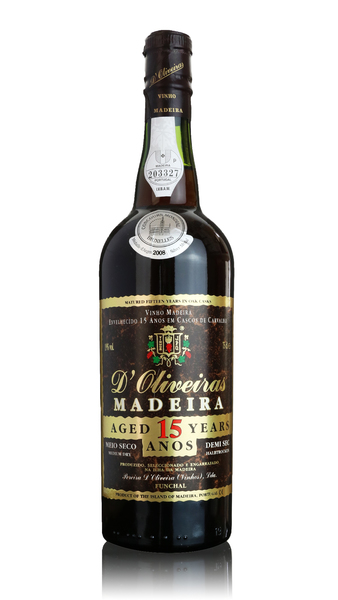 D'Oliveiras Madeira - 15 year old Medium Dry