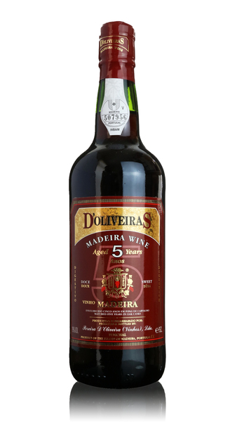 D'Oliveiras Madeira - 5 year old Sweet