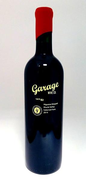 Garage Wine Co Cabernet Franc 2014