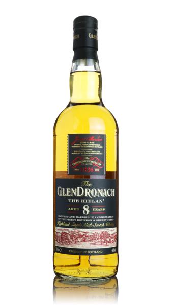Glendronach The Hielan 8 Year Old Highland Single Malt