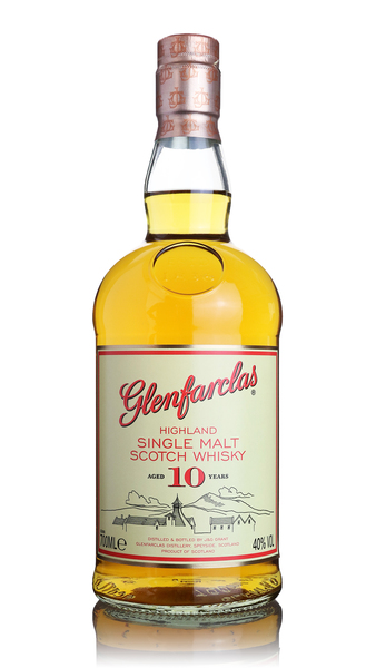 Glenfarclas 10 Year Old Highland Single  Malt