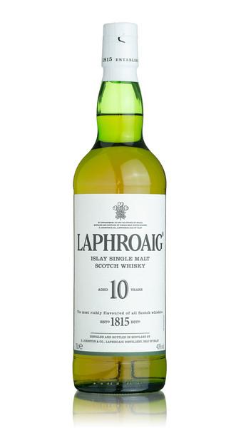 Laphroaig 10 Year Old Islay Single Malt