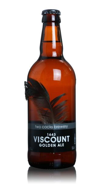 Two Cocks 1643 Viscount Golden Ale