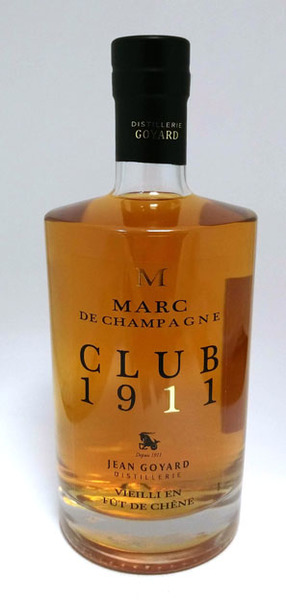 Club 1911 Vieux Marc de Champagne,Jean Goyard