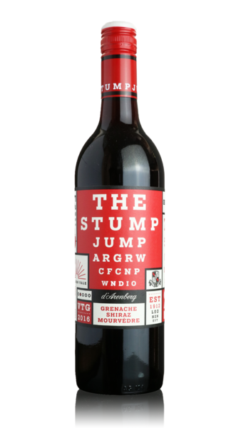 d'Arenberg The Stump Jump Grenache Shiraz Mourvedre 2016