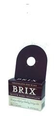 Brix Smooth Dark Chocolate 54% Cocoa, 85g neckhanger bar