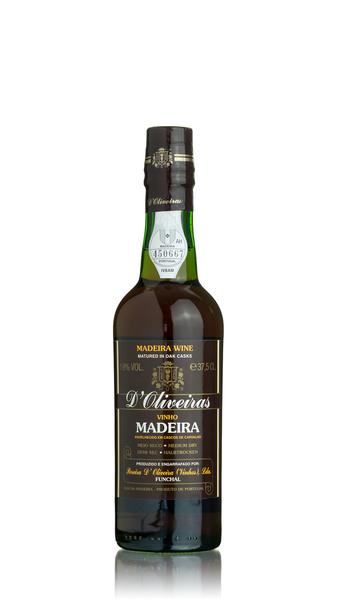 D'Oliveiras Madeira - 3 year old Medium Dry - Half Bottle