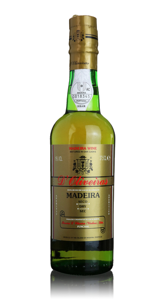 D'Oliveiras Madeira - 3 year old Dry - Half Bottle