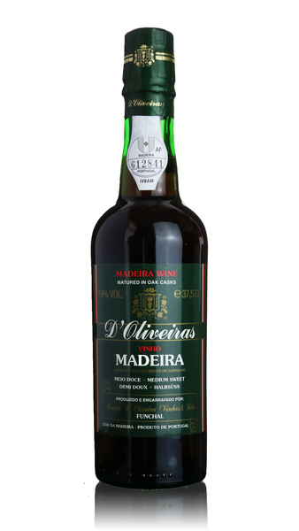 D'Oliveiras Madeira - 3 year old Medium Sweet - Half Bottle