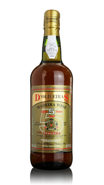 D'Oliveiras Madeira - 5 year old Dry