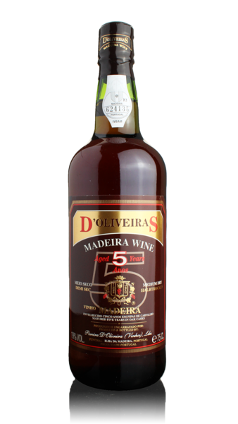 D'Oliveiras Madeira - 5 year old Medium Dry