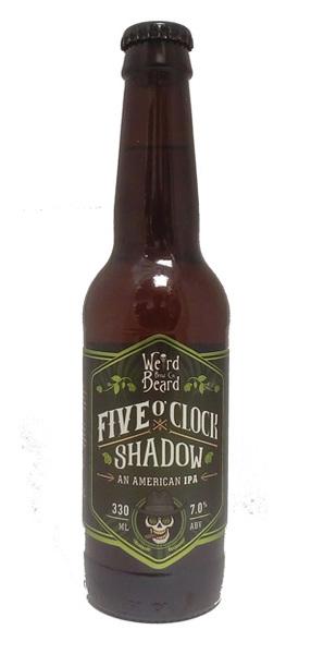Weird Beard Five O'Clock Shadow American IPA