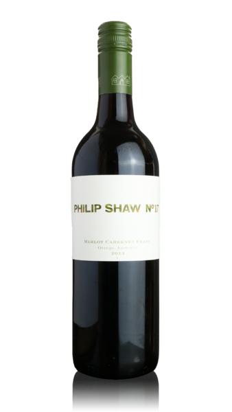 Philip Shaw No.17 Merlot - Cabernet Franc 2013