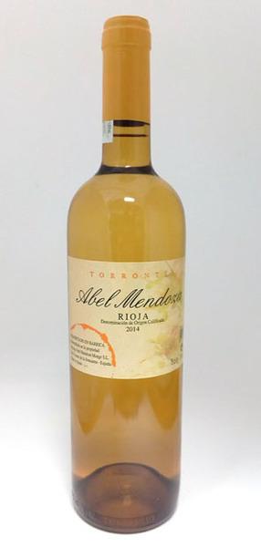 Abel Mendoza Torrontes, Rioja Blanco 2014