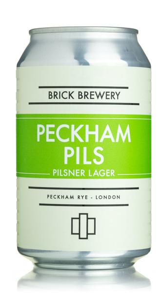 Brick Brewery Peckham Pils