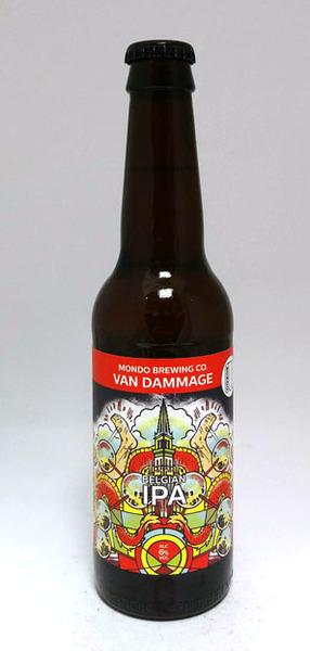 Mondo Brewing Van Dammage, Belgian IPA