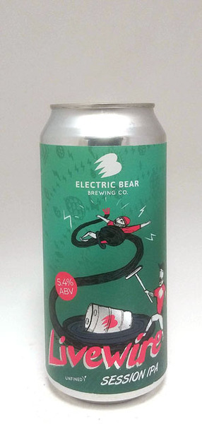 Electric Bear Livewire Session IPA