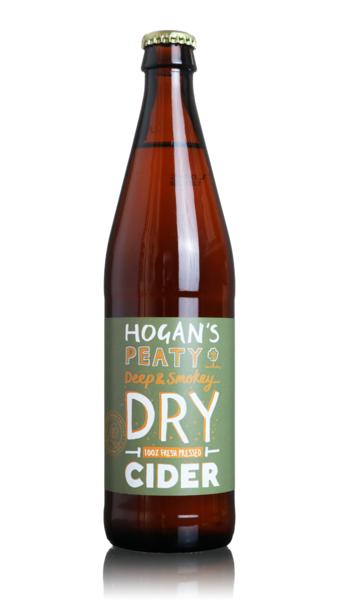 Hogan's Peaty Deep and Smokey Dry Cider
