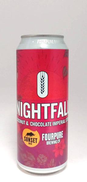 Fourpure Nightfall Coconut & Chocolate Imperial Stout