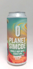 Fourpure Planet Simcoe West Coast IPA