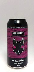 Mad Squirrel de la Crème Milk Stout