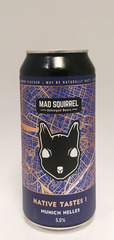 Mad Squirrel Native Tastes Munich Helles