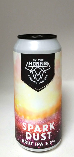 By The Horns Spark Dust Brut IPA