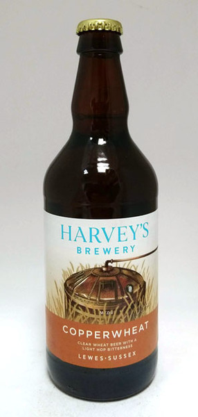 Harvey's Copperwheat Clear Wheat Beer