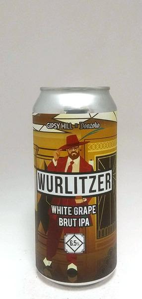 Gipsy Hill Wurlitzer White Grape Brut IPA