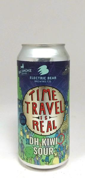 Big Smoke/Electric Bear Time Travel is Real Kiwi Sour
