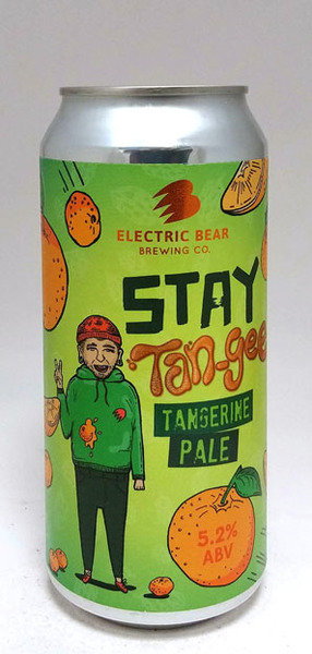 Electric Bear Stay Tan-Gee, Tangerine Pale