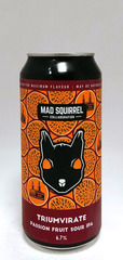 Mad Squirrel Triumvirate Passionfruit Sour IPA